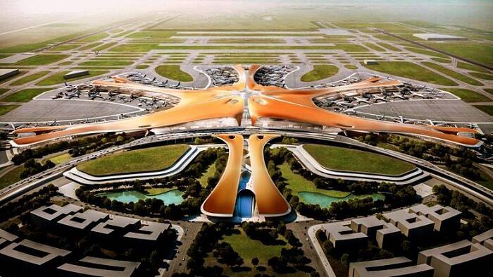 China's airport structure will become the biggest airplane terminal on the planet